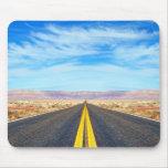Empty road mousepad