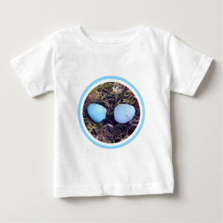 Empty Robin Eggs Baby Clothes T-shirts