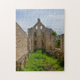 Empty Room Ruins Jigsaw Puzzle