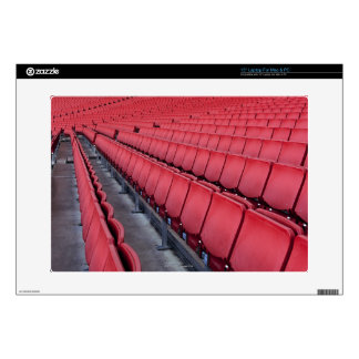 "Empty Seats in Stadium 15"" Laptop Decal"