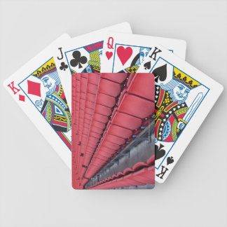 Empty Seats in Stadium Bicycle Playing Cards