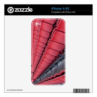 Empty Seats in Stadium Decal For iPhone 4