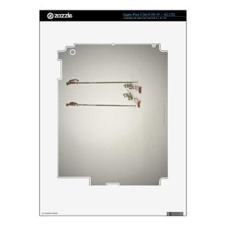 Empty Skis and Poles iPad 3 Skin