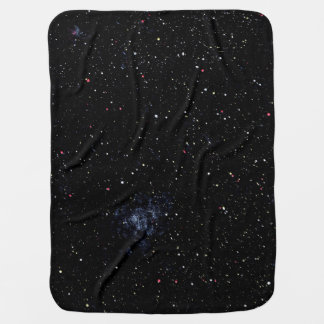 EMPTY SPACE (an outer space design) ~ Stroller Blanket