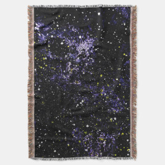 EMPTY SPACE (an outer space design) ~ Throw