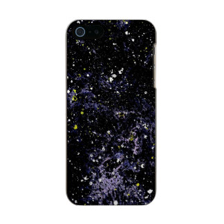 EMPTY SPACE v.2 (outerspace art) ~ Metallic iPhone SE/5/5s Case
