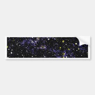 EMPTY SPACE (variant 2) ~ Car Bumper Sticker