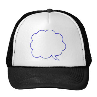 Empty speech bubble #1 trucker hat