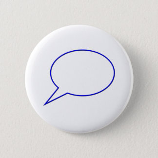Empty speech bubble #2 button