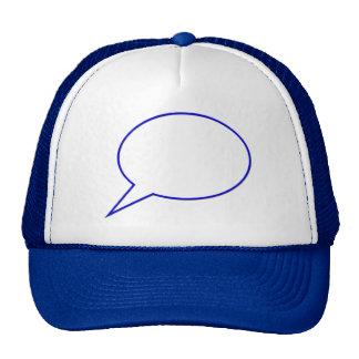 Empty speech bubble #2 trucker hat