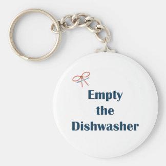 Empty The Dishwasher Reminders Keychain
