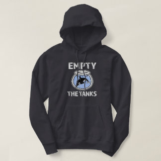 Empty the Tanks - Free the Orca Whales sweater