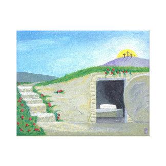 Empty Tomb Canvas