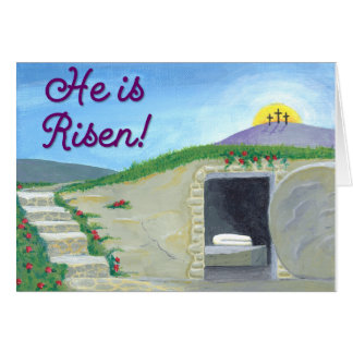 Empty Tomb Easter Card