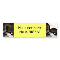 Empty Tomb of Easter Bumper Sticker