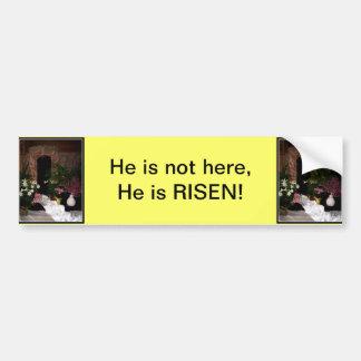 Empty Tomb of Easter Car Bumper Sticker