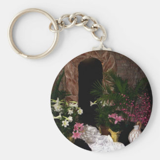 Empty Tomb of Easter Keychain
