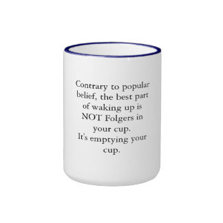Emptying your cup