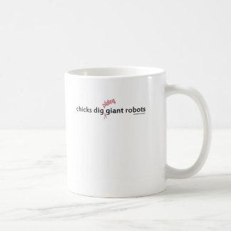 Empuje de los polluelos que pilota la taza gigante