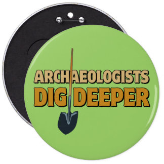 Empuje del arqueólogo pin redondo 15 cm