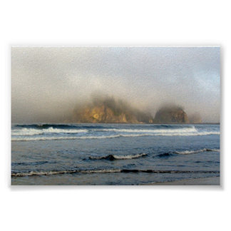 Empuje del La, Costa del Pacífico - WA Poster