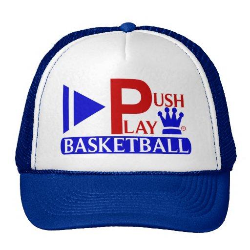 Empuje el baloncesto atlético del desgaste del jue gorro de camionero