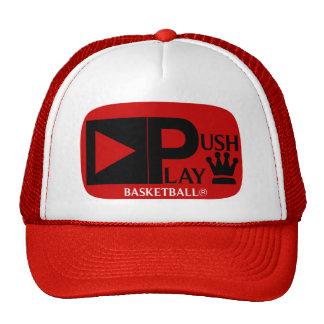 Empuje el baloncesto atlético del desgaste del jue gorras