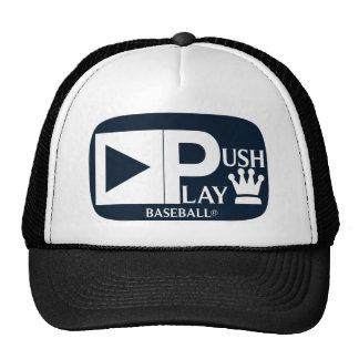 Empuje el béisbol atlético del desgaste del juego gorras de camionero