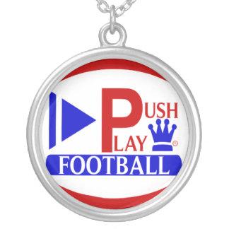 Empuje el collar del fútbol del juego
