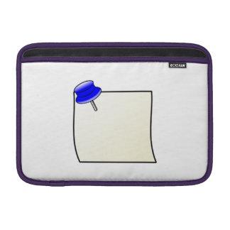 Empuje el Pin y la nota Fundas Para Macbook Air