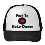 Empuje para hacer danza gorros