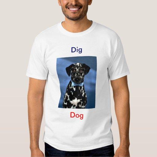 Empuje, perro remeras