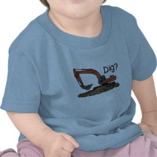 ¿Empuje? Camisetas