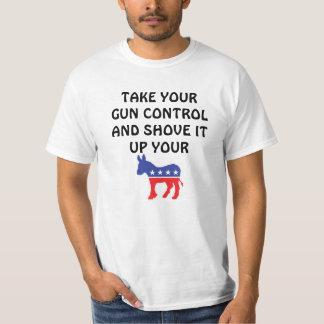 Empuje su control de armas playera