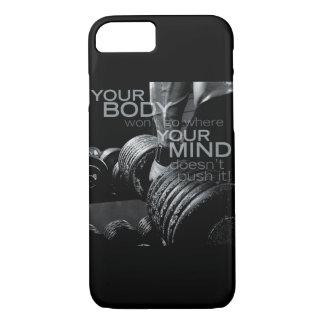 Empuje su mente y cuerpo - entrenamiento de funda iPhone 7