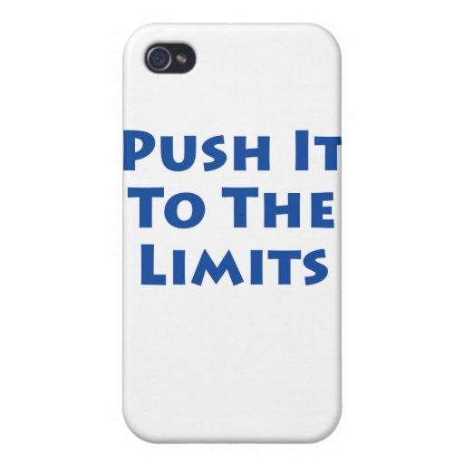¡Empújelo a los límites! iPhone 4/4S Funda