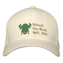 Emrboidered Bullfrog Hats - Customizable