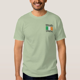 Emroidered Irish Pride Shirt
