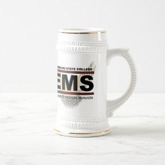 ems2 gold stein coffee mug