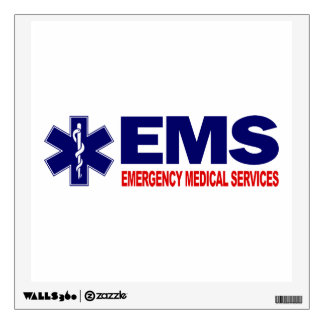 EMS 3 WALL STICKER
