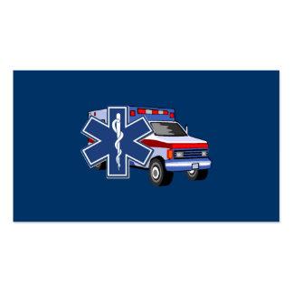 EMS Ambulance Business Card