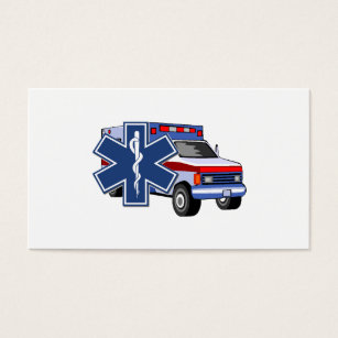 Fire rescue ems business cards templates zazzle ems ambulance business card colourmoves Image collections
