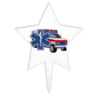 EMS Ambulance Cake Picks