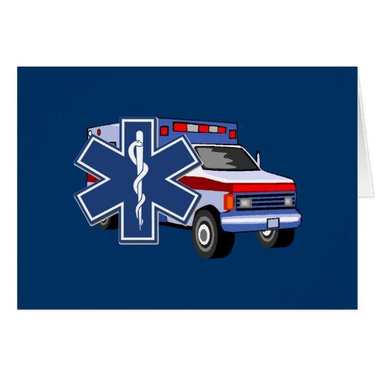 EMS Ambulance Card