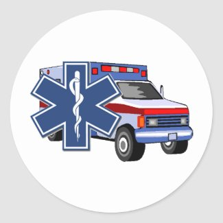 EMS EMT Decals Stickers Notes and Paper