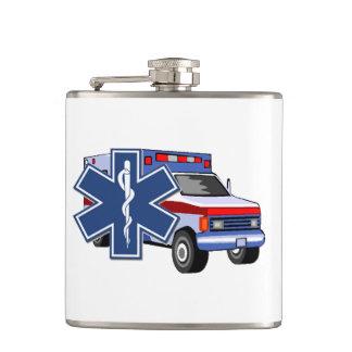 EMS Ambulance Flask