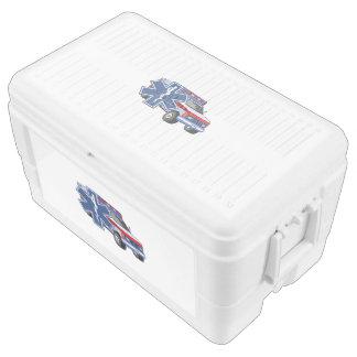 EMS Ambulance Igloo Chest Cooler