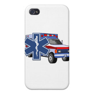 EMS Ambulance iPhone 4 Cases