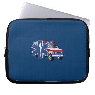EMS Ambulance Laptop Computer Sleeves