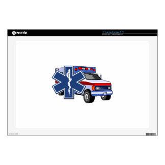 EMS Ambulance Laptop Skins
